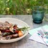 Vitello con Verdure alla Piastra